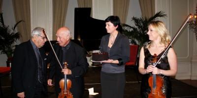 Gary Graffman, Joseph Silverstein, Olena Sidlovych, Solomiya Ivakhiv